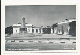 War Memorial * D. Goodson * Caltex - California Texas Oil Company Edition - South Africa