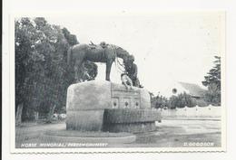 Horse Memorial * D. Goodson * Caltex - California Texas Oil Company Edition - South Africa