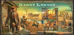 AUSTRALIA, 2017 HENRY LAWSON MINISHEET MNH - 2010-... Elizabeth II