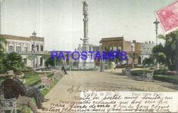 105712 ARGENTINA ROSARIO SANTA FE SQUARE PLAZA 25 DE MAYO YEAR 1905 POSTAL POSTCARD - Bolivie