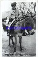 105721 ARGENTINA CORDOBA COSTUMES SELLER VENDEDOR DE CABRITOS PHOTO NO POSTAL POSTCARD - Bolivie