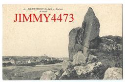 CPA - Ville Au Loin Et Rochers - Ar Rorech - ILE DE BREHAT 22 Côtes Du Nord - Edit. J. Sorel à Rennes N° 46 - Ile De Bréhat
