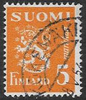 Finland SG379b 1946 Definitive 5m Good/fine Used [39/31783/6D] - Finland