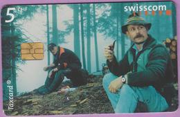 Télécarte Suisse °° SE.83. Pause Forestière - 5CHF - Gem8 - 11.2000 R. - Suisse