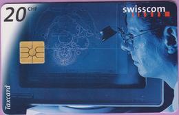 Télécarte Suisse °° SE.28. Horlogerie Construction  - 20CHF - Gem2 -  01.1998 - R. - Suisse