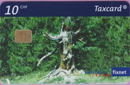 Télécarte Suisse °° SE.144. Tronc D'arbre - 10CHF - CL1 - 06.2003 - R. - Suisse
