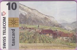 Télécarte Suisse °° SE.3. YVORNE.SANSCHF-°°°- 10 - Gem2 - 08.1996 - R. - Suisse