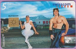 Télécarte Suisse °° SE.53. Pas De Deux - 5CHF - Gem2 - 04.1999 - R. - Suisse