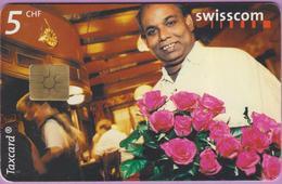 Télécarte Suisse °° SE.68. Vendeur De Roses - 5CHF - Gem2 - 12.1999 - R. - Suisse