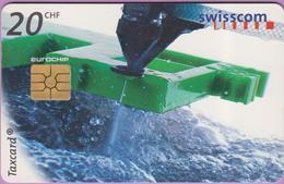 Télécarte Suisse °° SE.52. Découpage à Froid  - 20CHF - Gem2 -  03.1999 - R. - Suisse