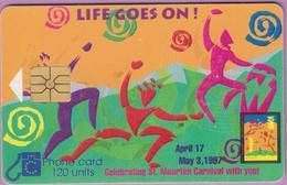 Télécarte St-Marteen °° Antilles Néerlandaises-Life Goes On-120 Units-1997-R.. - Antillen (Nederlands)