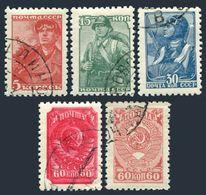 Russia 734-738,CTO.Michel 676-IA,679-IA,682-IA,684-IVA,855, Definitive 1939-1943 - 1923-1991 USSR