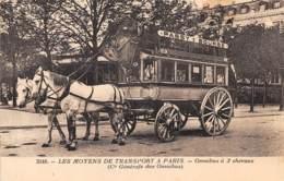 75 - Paris / 10135 - Omnibus à 2 Chevaux - Passy Bourse - Other