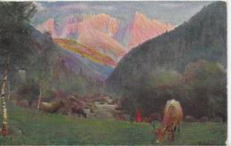 AK 0113  Dolomitenstrasse - Spätherbstabend Im Eggentale / Der Latemar Vom Hälsl Um 1910 - Bolzano (Bozen)