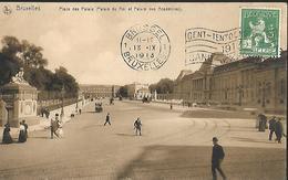 Bruxelles Place Des Palais ( Palais Du Roi Et Palais Des Académies ) - Squares