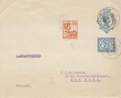 Curacao 1925: Letter To Den Haag - Curaçao, Antilles Neérlandaises, Aruba