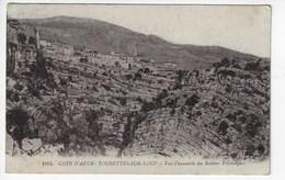 06 - TOURETTES Sur LOUP - Vue D'ensemble Des Rochers Volcaniques - 1924 (N131) - Autres Communes