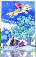 "Russische Volksmärchen ""Tale Of Rejuvenating Apples"" / ""Skazka O Molodilnih Yablokah"" Kunst Moderne Russische Postkarte - Fairy Tales, Popular Stories & Legends"