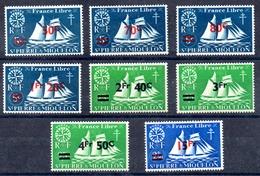Saint-Pierre Miquelon Y&T 315* - 322* - St.Pierre & Miquelon