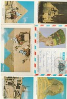EGYPTE ENVELOPPE PAR AVION 1984...DEPLIABLE AVEC PLUSIEURS PHOTOS - Luchtpost