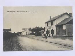LE LOUROUX-BÉCONNAIS - La Gare - Le Louroux Beconnais