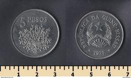 Guinea-Bissau 5 Pesos 1977 - Guinea Bissau