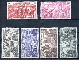 Saint-Pierre Miquelon Luftpost Y&T PA 12* - PA 17* - Unused Stamps