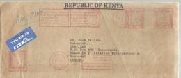LETTER  1979 - Kenia (1963-...)