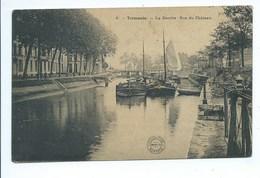 Termonde Dendermonde La Dendre Rue Du Château - Dendermonde