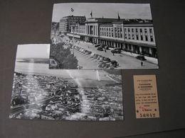 Geneve  ..kl., Lot Mit Bahnkarte Ca. 1958 - GE Genf