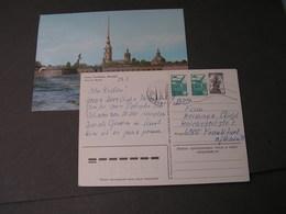 Russland 2 Bildkarten 1985 - Russland