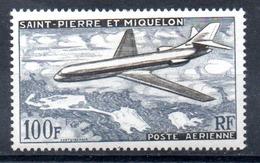 Saint-Pierre Miquelon Luftpost Y&T PA 25* - Ungebraucht