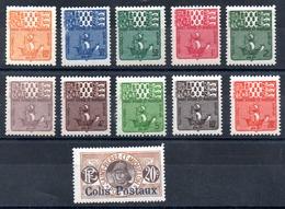 Saint-Pierre Miquelon Porto & Paket  Y&T  T 67* - T 76*, Colis 4* - Portomarken