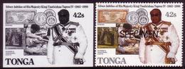 Tonga 1990 Proof - Shows Money - Coin - Tonga (1970-...)