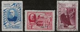 Russie 1941 N° Y&T :  831 à 833 Obl. - 1923-1991 URSS