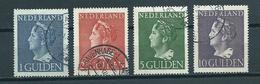 1946 Netherlands Complete Set Queen Wilhelmina Used/gebruikt/oblitere - Periode 1891-1948 (Wilhelmina)