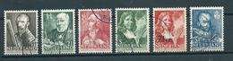 1940 Netherlands Complete Set Summer Welfare Used/gebruikt/oblitere - Periode 1891-1948 (Wilhelmina)