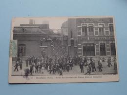 Sortie Des Ouvriers Des Usines MOTTE Et DELESCLUSE ( 54 ) Anno 1906 ( Zie/voir Foto ) ! - Roubaix