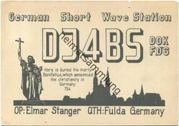QSL - Funkkarte - DJ4BS - Fulda - Amateurfunk