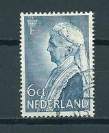1934 Netherlands Queen Emma Used/gebruikt/oblitere - Periode 1891-1948 (Wilhelmina)
