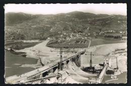 L'ESCALE- Les Basses Alpes- Barrage Sur La Durance Et Le Village De L'ESCALE -cpsm Voyagée 1963 - Sonstige Gemeinden