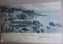 Cartolina Genova Ricordo Di Nervi La Spiaggia - Viaggiata - è Come Da Foto - Genova (Genoa)