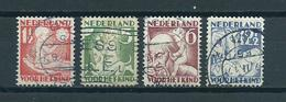 1930 Netherlands Complete Set Child Welfare Used/gebruikt/oblitere - Periode 1891-1948 (Wilhelmina)