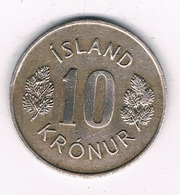 10 KRONUR 1976  IJSLAND /'9048// - Islande