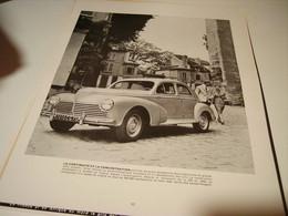 ANCIENNE PUBLICITE  LA 203 CONTINUE PEUGEOT 1954 - Advertising