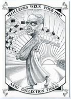 VEYRI - FIGEAC - Voeux De L'association ACFE Pour 1993 - Martin MALVY  - Tirage Limité - Voir Scan - Veyri, Bernard