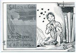 VEYRI - Carte Personnelle Francis Felix à Ivry - Salon Des Cent  - Tirage Limité - Voir Scan - Veyri, Bernard