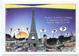 VEYRI - PARIS - Centenaire De La Tour Eiffel - 1989  - Tirage Limité - Voir Scan - Veyri, Bernard