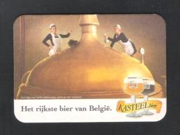 BIERVILTJE - SOUS-BOCK - BIERDECKEL - KASTEELBIER - INGELMUNSTER - HET RIJKSTE BIER VAN BELGIE   (B 180) - Sotto-boccale