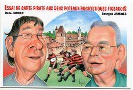 VEYRI - Carte Pirate Salon De FIGEAC 2013  - Tirage Limité - Voir Scan - Veyri, Bernard